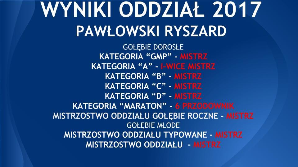Kopia WYNIKI ODDZIAŁ RYSZARD 2017